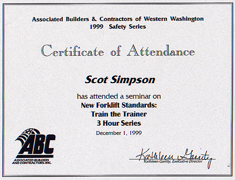 Safety training certificate template mandegarfo safety training certificate template yadclub Choice Image